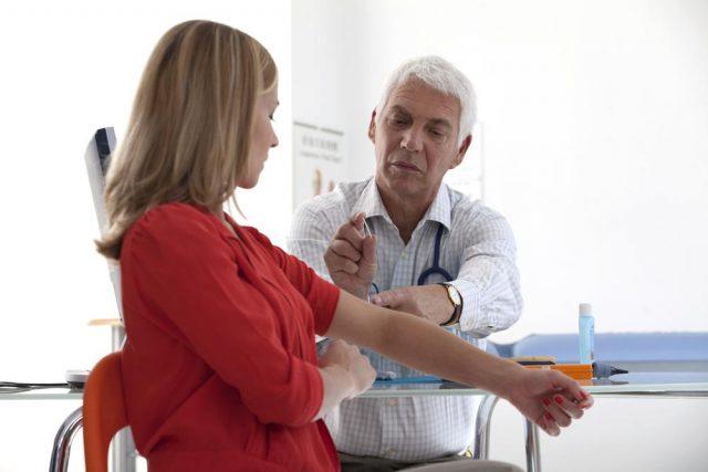 Arm IUD Contraceptive